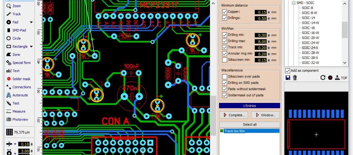 #1 Sprint Layout 6.0 návrhový systém pre PCB