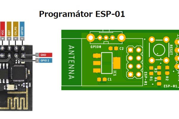 Ako naprogramovať WI-FI čip ESP-01