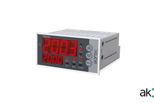 AKYTEC TRM500 – panelový regulátor teploty PID & On/Off