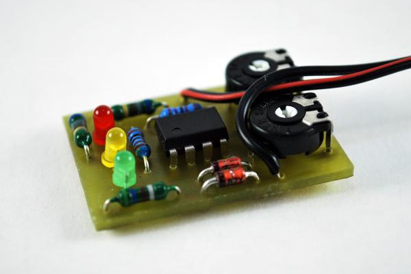 Batest - jednoduchý tester 12V olovených akumulátorov za pár drobných