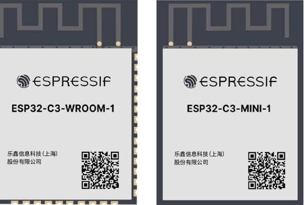 ESP32-C3 od spoločnosti Espressif s jednojadrovým procesorom RISC-V