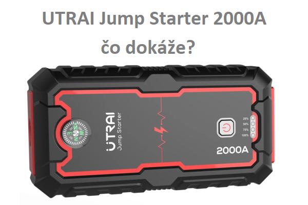 Malý štartovací zdroj UTRAI 2000A, čo všetko dokáže ?