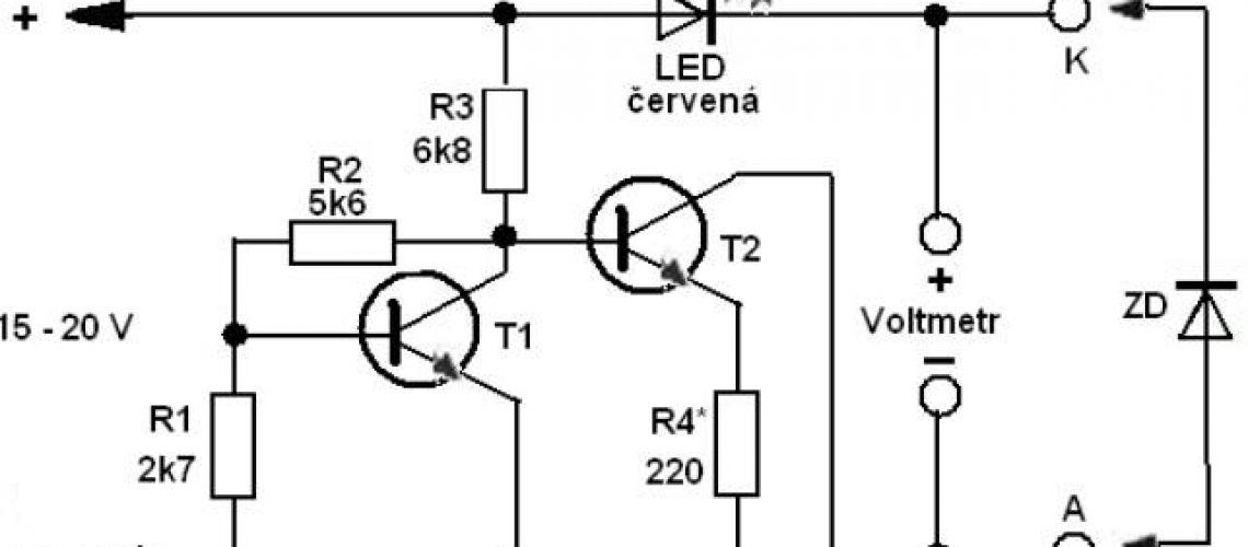 Meranie a merač zenerových diód