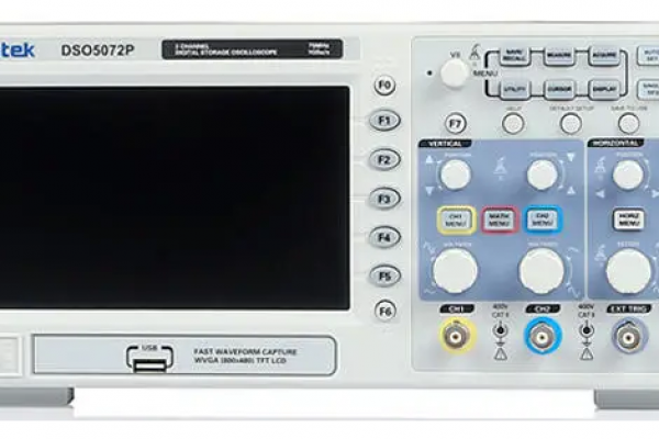 Hantek DSO5072P začiatočnícky digitálny osciloskop