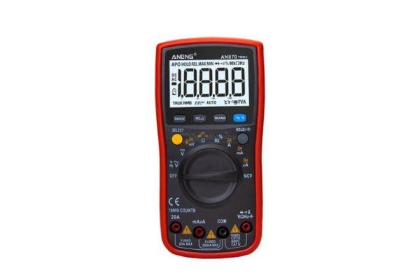 Presnosť meraní s multimetrom Aneng AN870