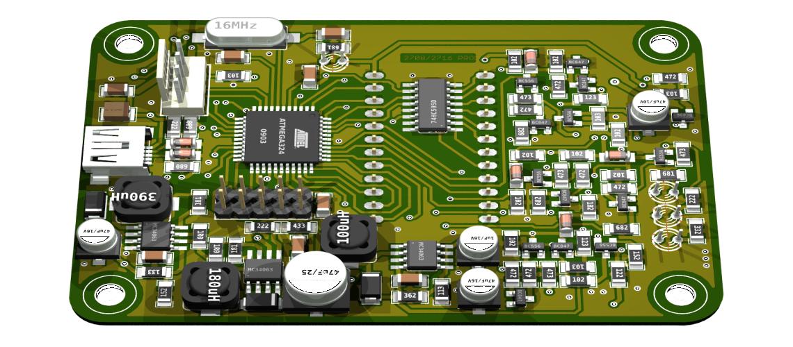 Programátor obvodov EPROM 2708 a2716 smožnosťou rozšírenia
