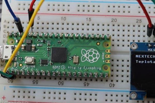 Raspberry Pi Pico – pripojenie OLED displeja a výpis textov
