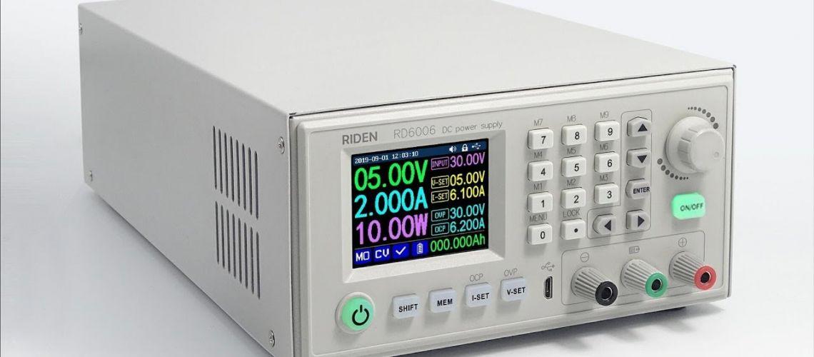 Recenzia RD RD6006 RD6006W USB WiFi DC - DC napäťovo prúdového