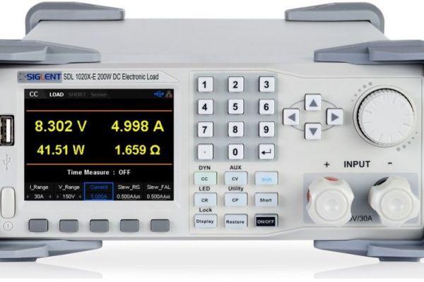 Siglent SDL1020X Programovateľná DC elektronická záťaž