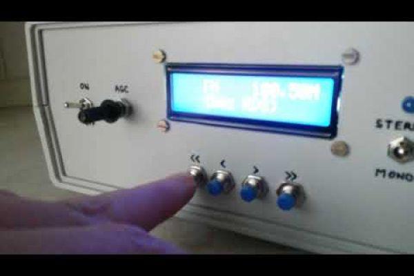 Stereo FM rádio s TV tunerom