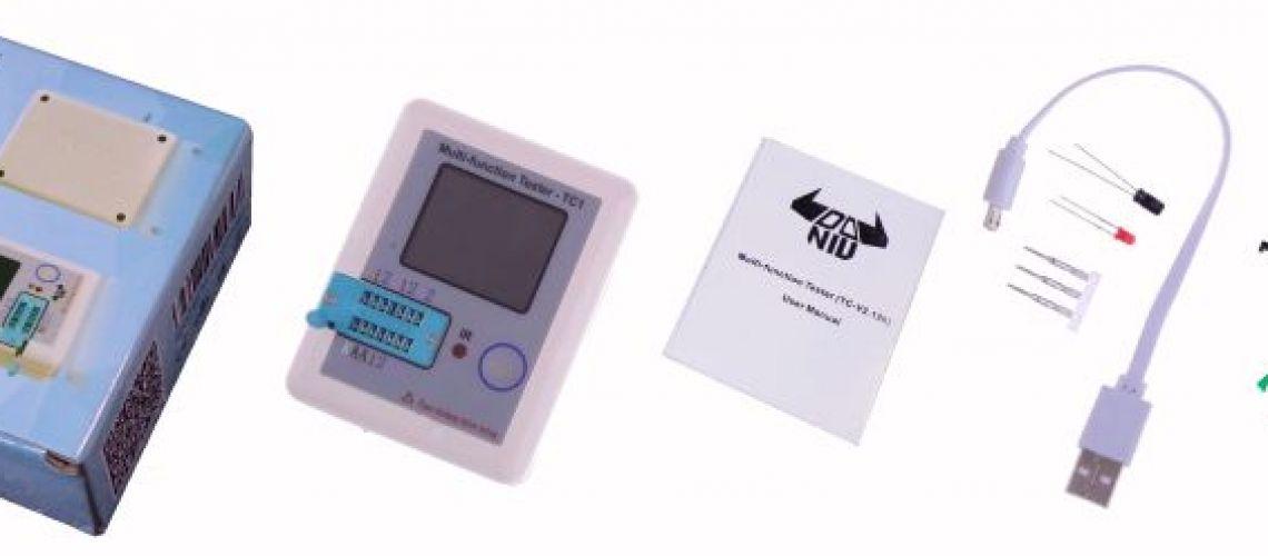 TC1 -  tester komponentov za pár drobných