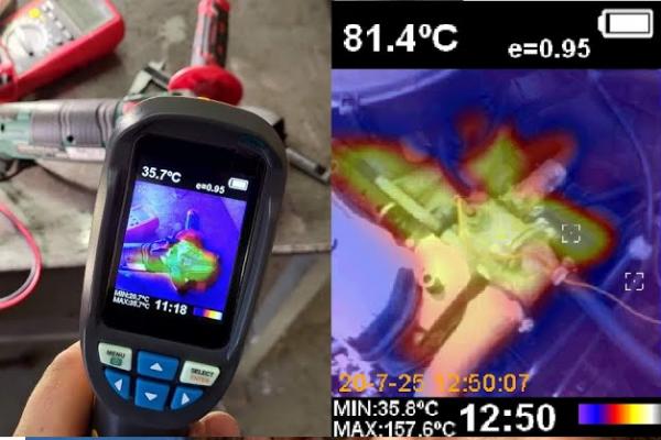 Test termokamery HT 02 a co od ní můžeme očekávat