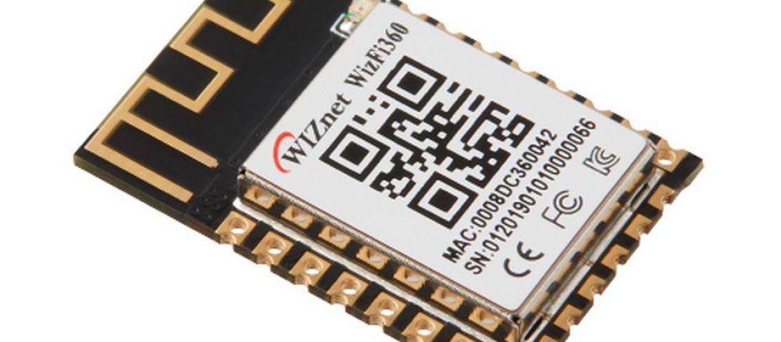 WizFi360 rýchly, lacný a hlavne jednoduchý plug&play WiFi modul