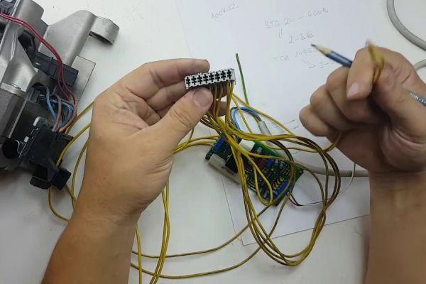 Zapojenie a využitie elektro motora z práčky